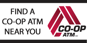 Find a co-op ATM near you