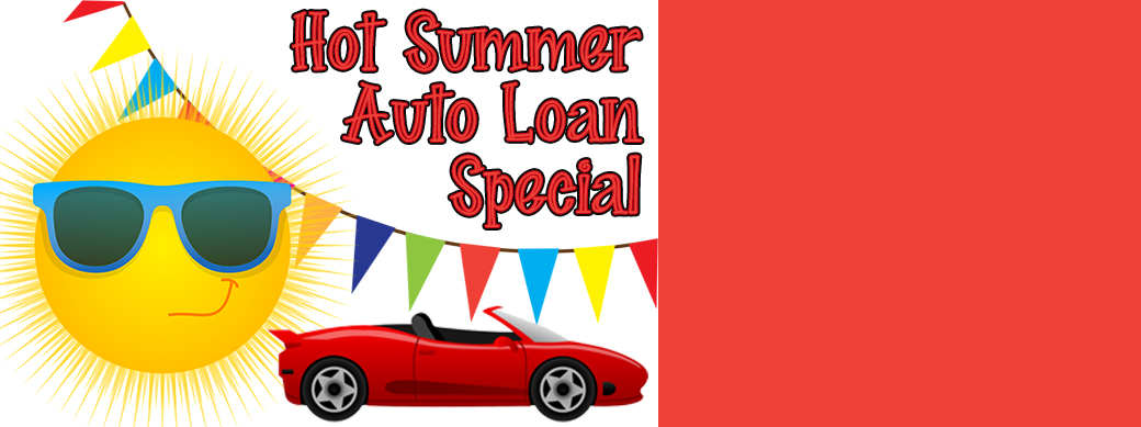 August Auto Loan Special